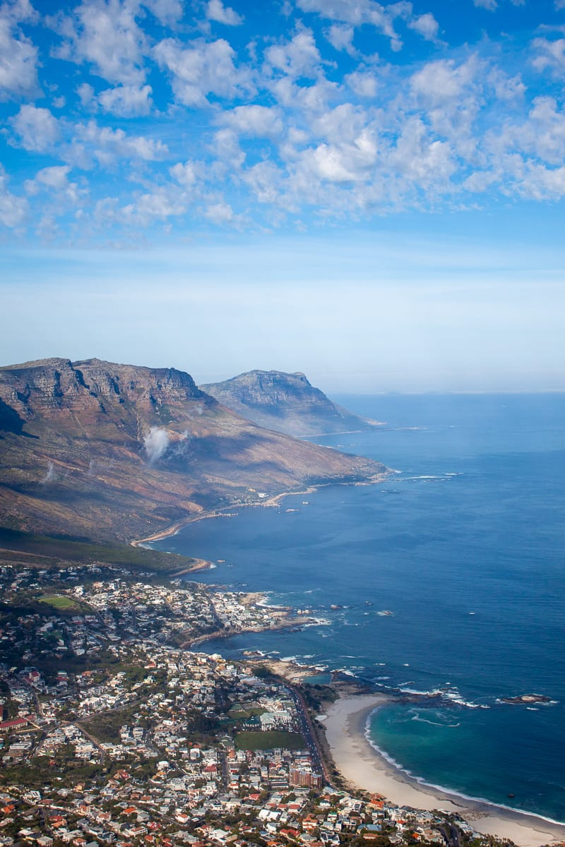 Top of Lions Head views of Camps Bay