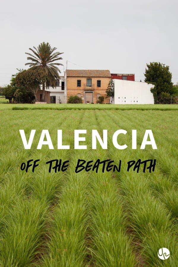 Valencia off the beaten path pin