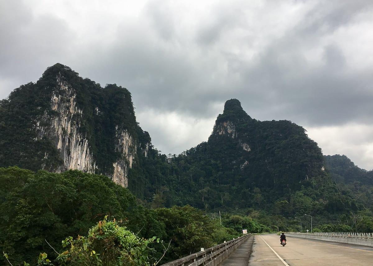 Exploring outside of Khao Sok National Park
