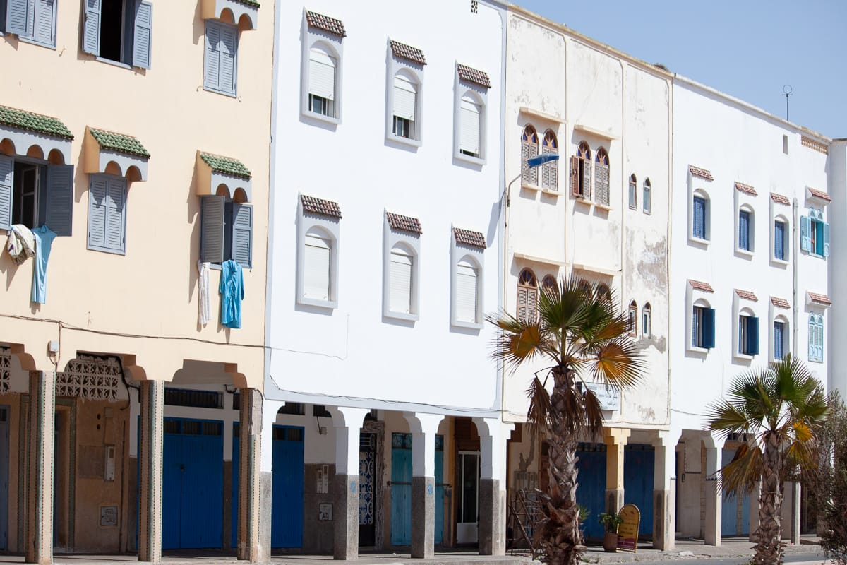 Where to stay in Essaouira travel blog: El Borj.