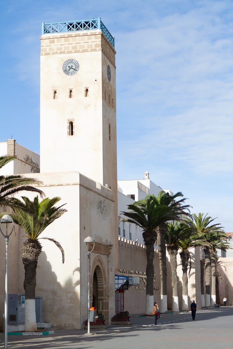 Essaouira clock tower