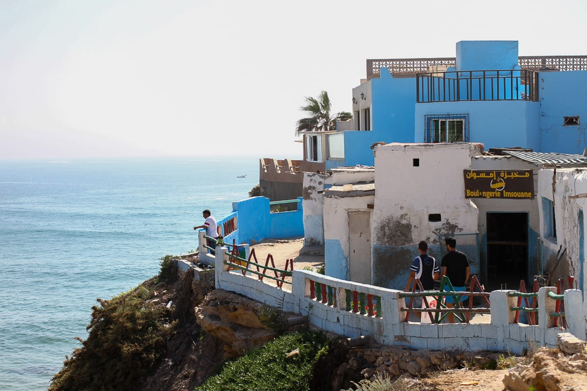One of the places we recommend in this Essaouira travel blog is heading down the coast towards the surfing villages of Tagazout and Imsouane