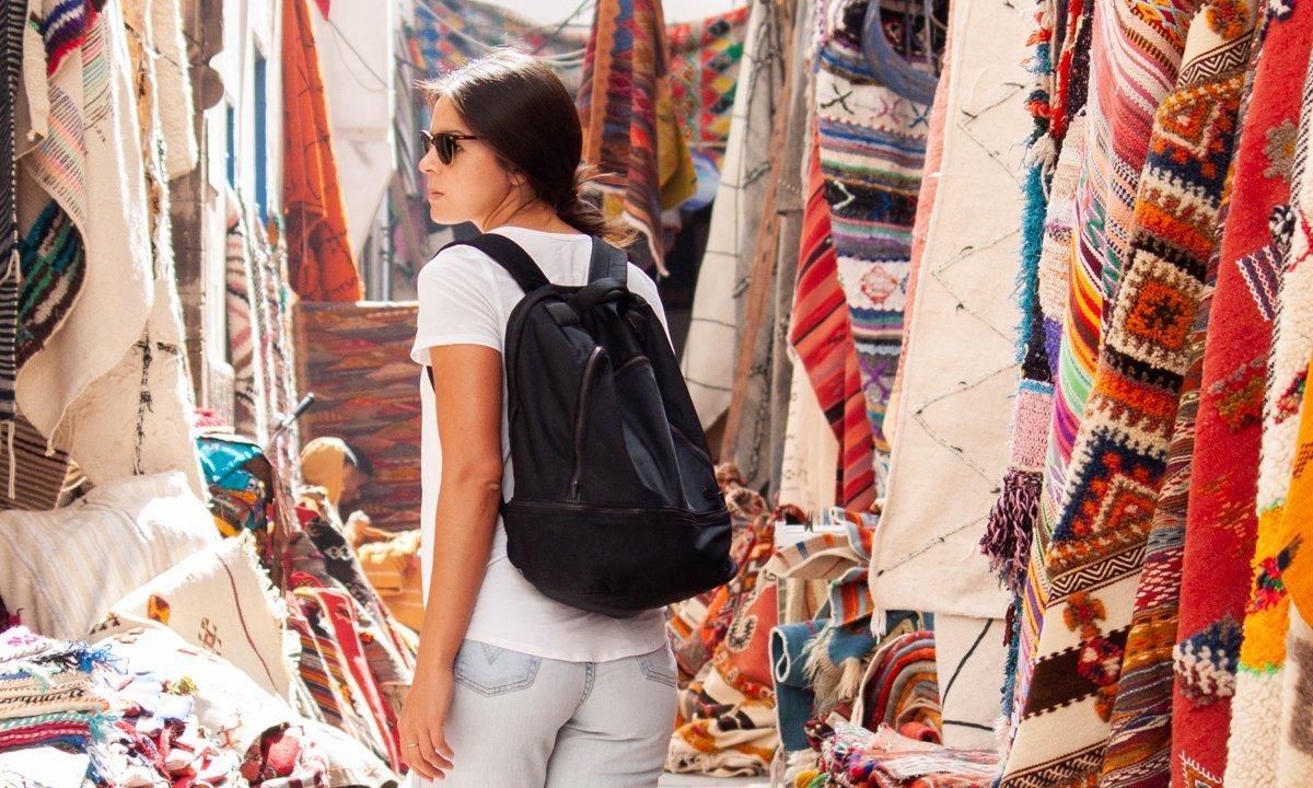 Kim's favorite Lululemon backpack