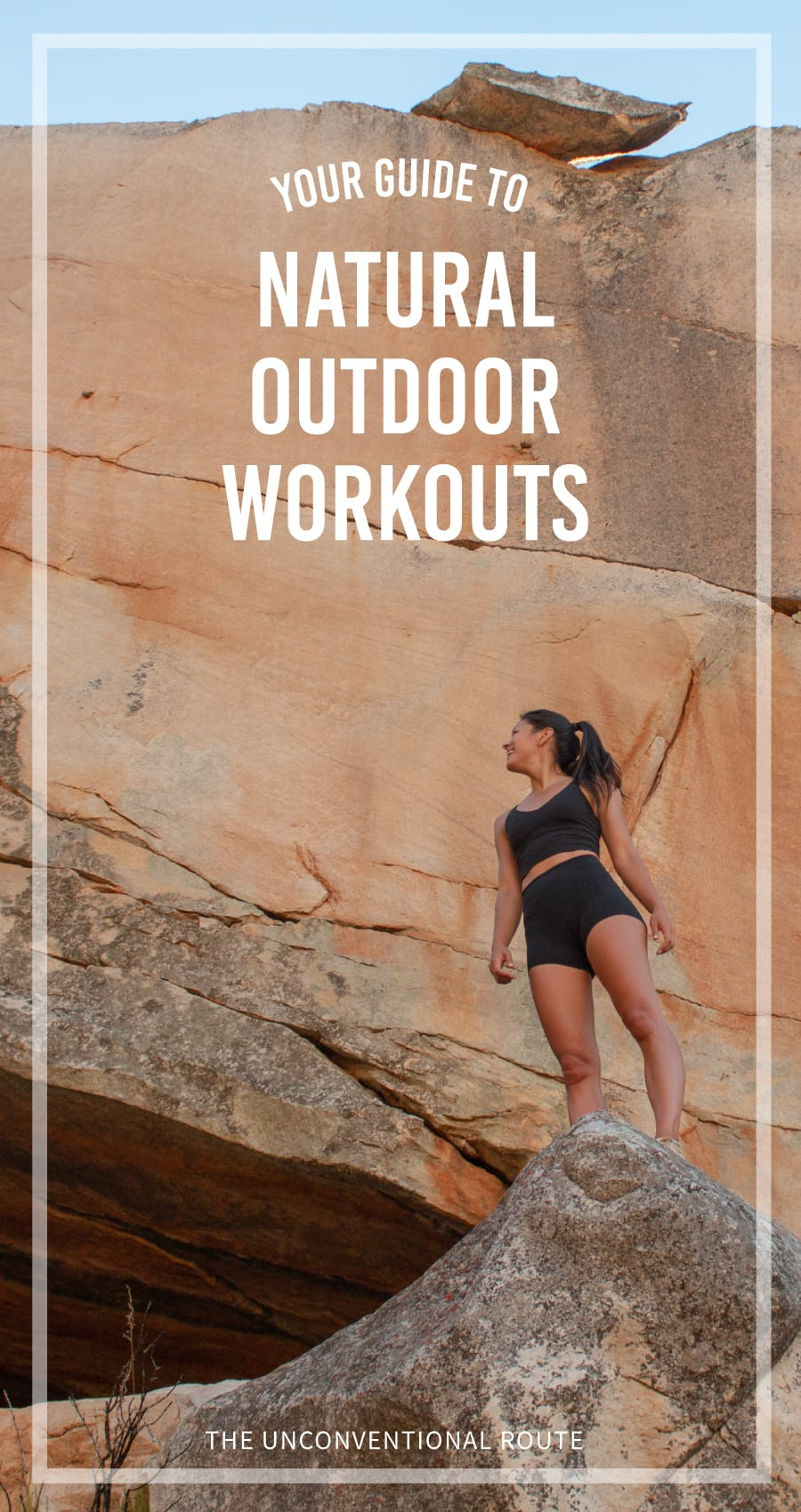A beginner's guide to working out outside, in nature, without a trainer, a fancy gym, or much equipment.
