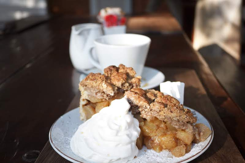 Appetizing apple pie from Namibia