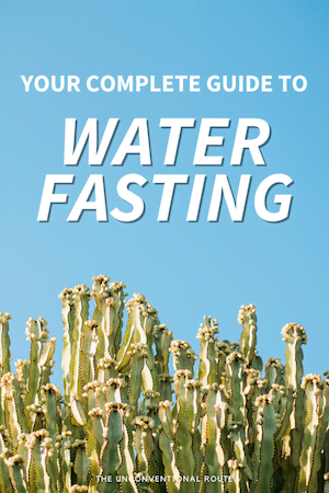 Water fasting tips related post image