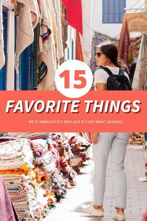 Favorite Things Pin