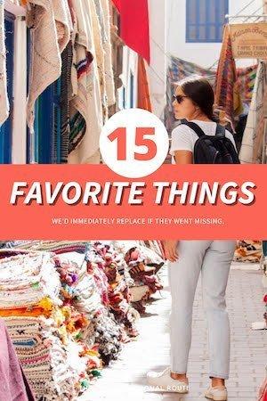 Favorite Things Pin