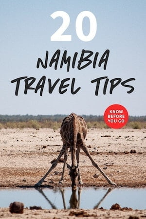 Namibia travel tips related post image