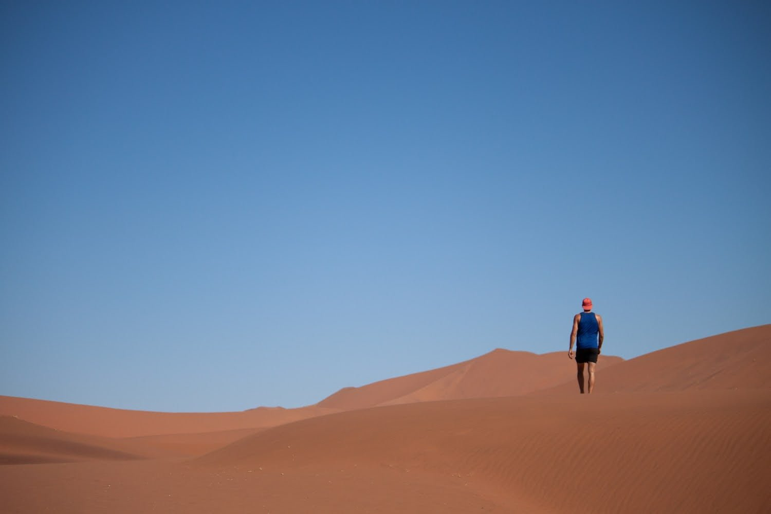 Questions to ask yourself about life for perspective and direction cover image of me lost in desert