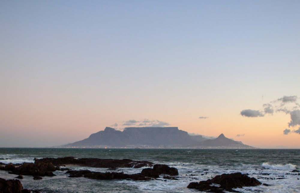 Is South Africa worth visiting cover image of Table Mountain